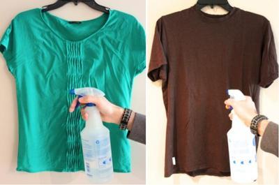 4. Semprot Pelembut Pakaian