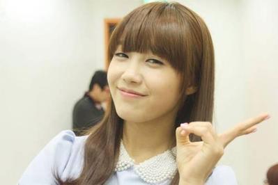 3. Cute Bangs (Jung Eun Ji)