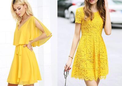 4 Inspirasi Gaun Kuning ala Selebriti untuk Kamu yang Ingin Tampil Fresh dan Youthful