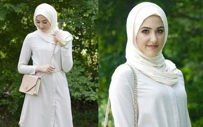 Tampil Lebih Stylish dengan Outfit Hijab Warna Putih, Lihat Padu Padannya di Sini!