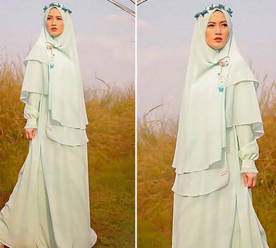 Ini Dia Para Artis Indonesia yang Sangat Cantik Menggunakan Hijab Syar'i