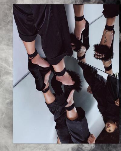 5. Straps Block Heels