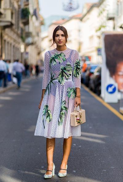 4. Crochet Dress