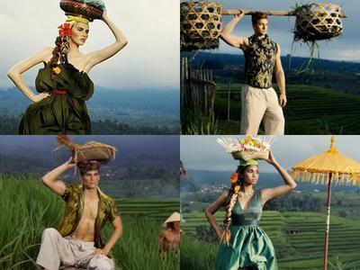 Bangga! Inilah Karya Desainer Indonesia yang Dipakai Selebriti Dunia