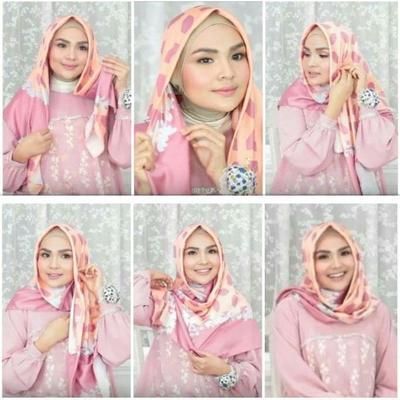 Tutorial Hijab ala Ria Miranda untuk Gaya Simple yang Elegan