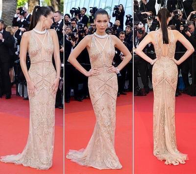 Menuai Pujian, Inilah Inspirasi Gaun Red Carpet Warna Nude Artis Hollywood!