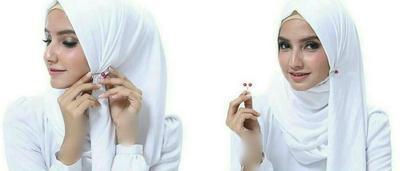 Simak Video Tutorial Hijab dengan Klip Peniti Sebagai Pengganti Jarum Pentul!