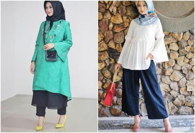 Tiru Gaya Keseharian Indah Nada Puspita dalam Padu Padan Heels dan Hijab yang Casual!