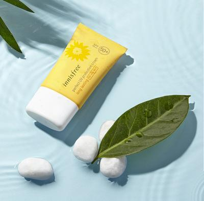 Review:  Innisfree Perfect UV Protection Cream Triple Care, Sunblock Terbaik dengan SPF 50