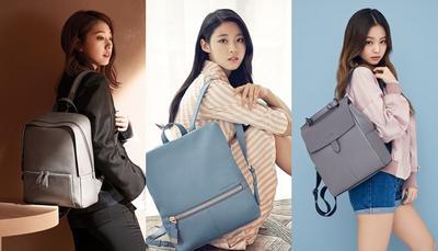 4 Gaya Selebriti Korea dengan Tas ransel yang Mencuri Perhatian
