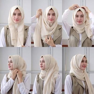 1. Hijab One Side