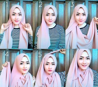 3. Hijab Layering