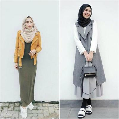 Tips Mix and Match Outer dengan Hijab Agar Gayamu Selalu Stylish
