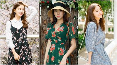 Yuk, Intip Padu Padan Cantik dengan Floral Dress Kekinian yang Hits Lagi di Tahun Ini!