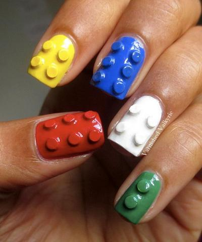 Ini Dia Inspirasi Model Nail Art 3D yang Mudah dan Seru untuk Mempercantik Kuku