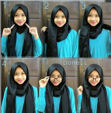 Cepat dan Mudah, Ini Tutorial Hijab Pashmina untuk Pemula