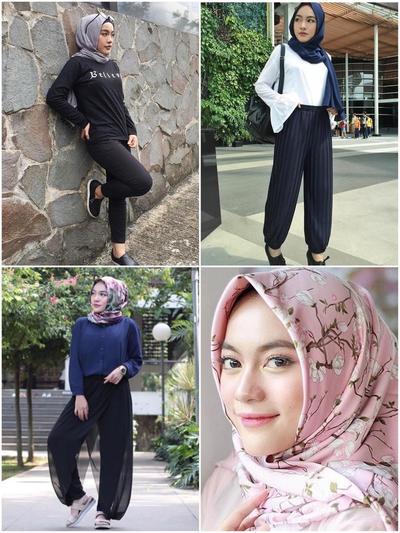 1. Mix and Match Make Up dan Hijab untuk Daily Activity