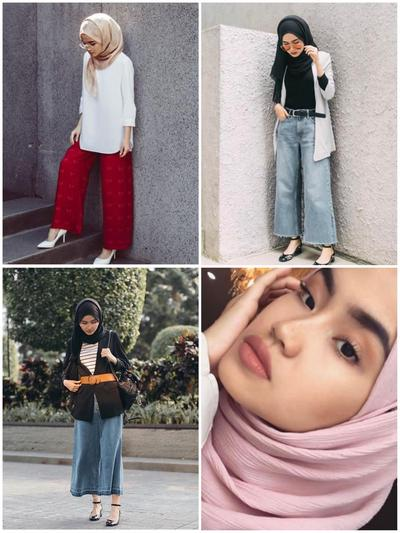 2. Mix and Match Make Up dan Hijab untuk Hangout
