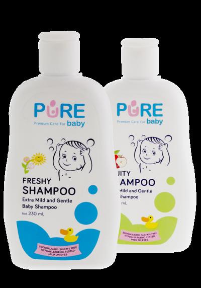3. Cuci dengan Tangan dan Shampo Bayi