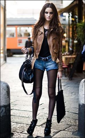 Celana Pendek & Sepatu Boots