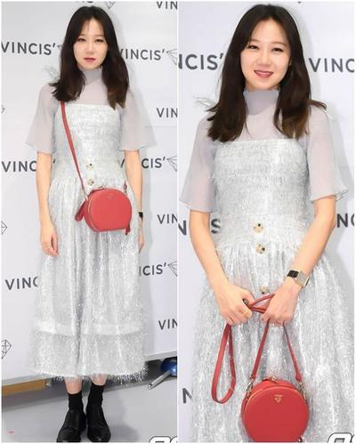 3. Red Round Bag (Gong Hyo Jin)