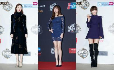 Penampilan Elegan dengan Gaun Biru Ala Selebriti Korea yang Bisa Banget Kamu Tiru Nih!
