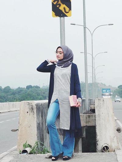 Kembali Tren, Inspirasi Celana Cutbray untuk Hijabers yang Bikin Kamu Tampil Fashionable