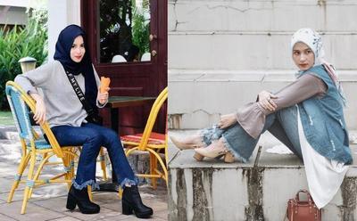 Ini Dia Padu Padan Celana Jeans Kekinian dengan Hijab Agar Penampilanmu Semakin Kece!