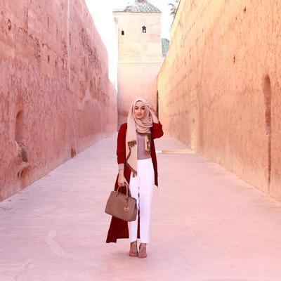 Yuk, Tampil Cantik dan Kece Ala Selebgram Hijab India, Ruba Zai