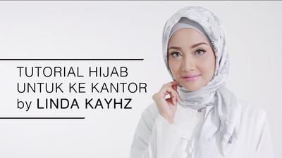 Tutorial Hijab Ke Kantor Oleh Linda Kayhz