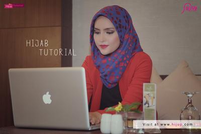 Tutorial Hijab Ke Kantor Oleh Zahratul Jannah