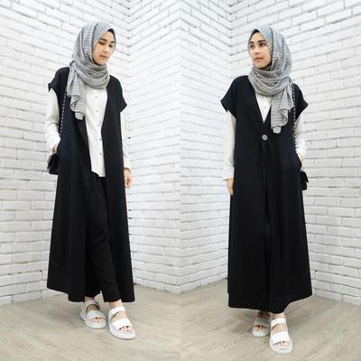 Yuk, Tampil Cantik dan Elegan dengan Padu Padan Hijab Warna Abu-abu
