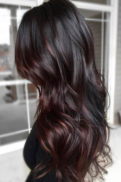 Brown Black Hair Color