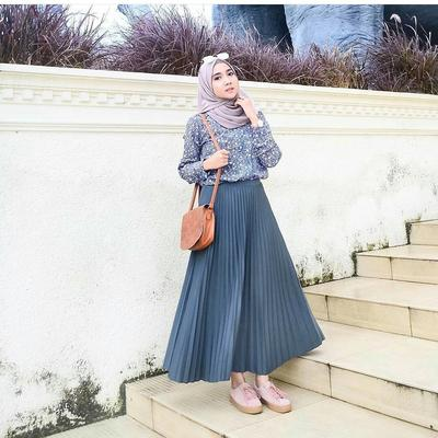 4. Pleated Skirt