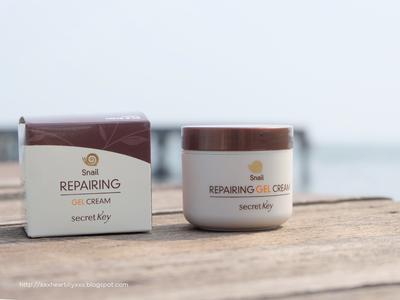 Secret Key Snail + EGF Repairing Gel Cream