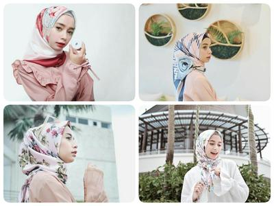 Psst, Ikuti Tips Padu Padan Hijab Satin Motif yang Lagi Hits di Kalangan Selebgram Ini Yuk!
