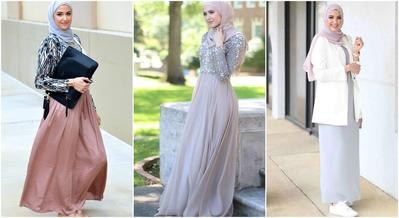 Nah, Ini 5 Model Atasan yang Paling Cocok untuk Dipadukan dengan Rok Panjang Hijab