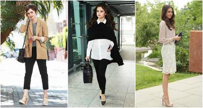 Tiru Padu Padan Baju Kerja Wanita yang Chic Ala Selebriti Barat untuk Outfit Kantor Kamu!