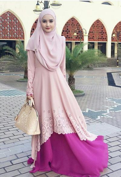 Padankan dengan Dress Syar'i