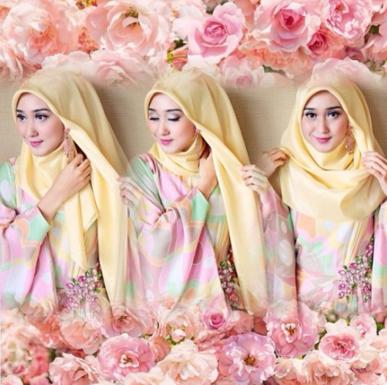 2. Hijab Jepit Satu