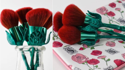 Brush Bentuk Mawar Ala Beauty And The Beast Super Cantik yang Diburu Para Wanita