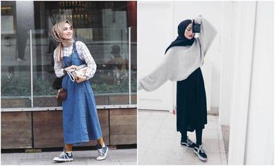 Tips Padu Padan Hijab Pashmina Katun dengan Outfit yang Anti Mainstream