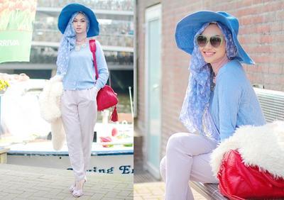 5 Gaya Padu Padan Hijab dengan Topi untuk Tampilan yang Unik dan Fashionable