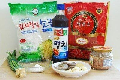 Bahan Untuk Bumbu Kimchi