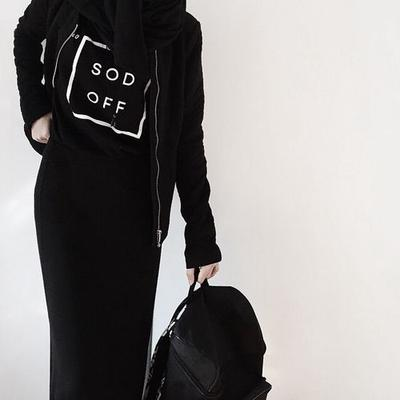 All Black Outfits and Statement Tees