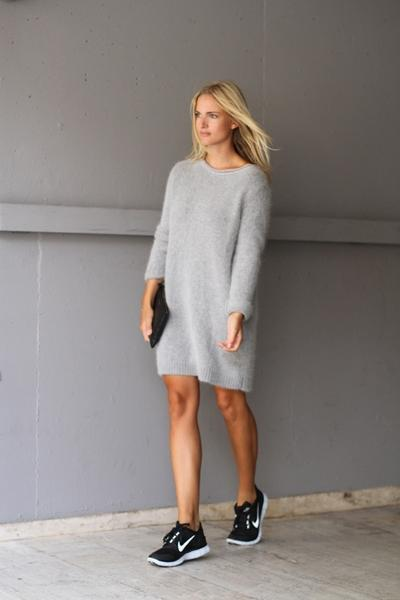 Simple Dress and Nike