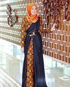 Dress Batik Kreasi