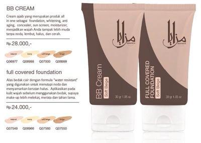 BB Cream Mazaya : Rekomendasi Produk All In One