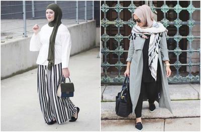 Inspirasi Gaya Busana Hijab ke Kantor yang Stylish untuk Wanita Plus Size