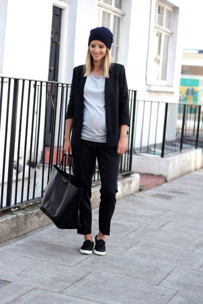 T-shirt and Blazer
